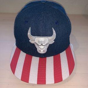 New Era Chicago Bulls Denim Dipped cap 3peat
